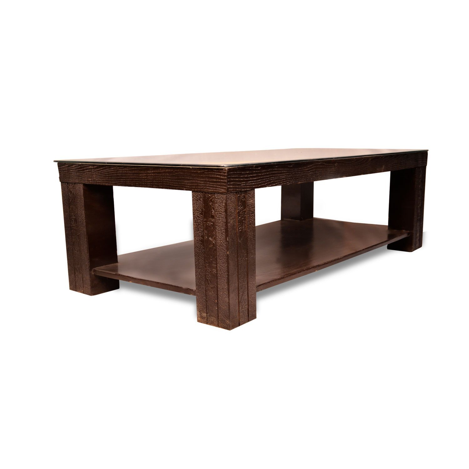 Contemporary Center Table, Glass Top Coffee Table, Walnut Coffee Table U2013  Pharneechar U2013 Online Furniture Store U2013 Delhi/NCR