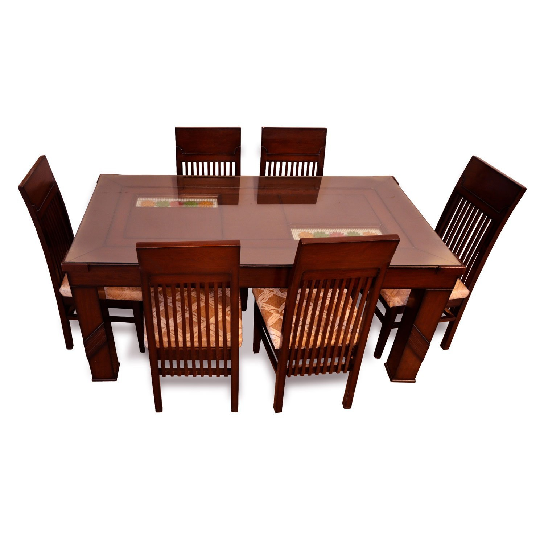 6 Seater Affordable Dining Table Set, Dining Room Table Sets, Wood Dining  Table, Best Dinner Table U2013 Pharneechar U2013 Online Furniture Store U2013 Delhi/NCR