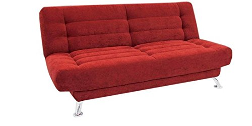 Supersoft Double Seater Sofa Cum Bed Red Pharneechar Online