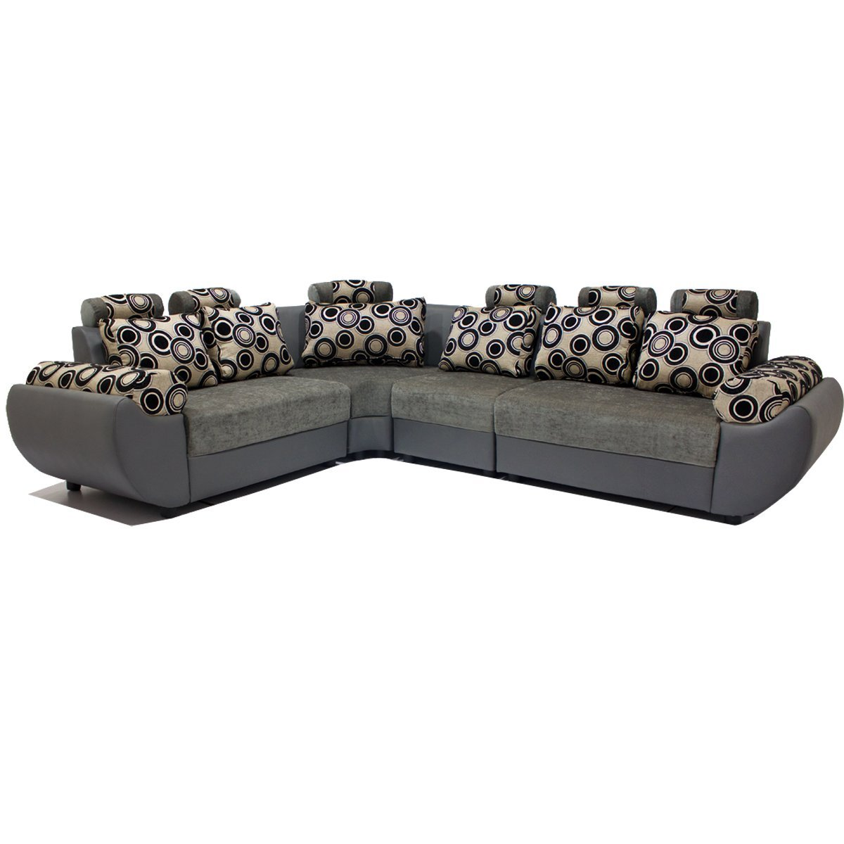 Five Seater L Shaped L Shaped Sofa Grey Pharneechar Online